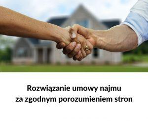 rozwiązanie umowy najmu